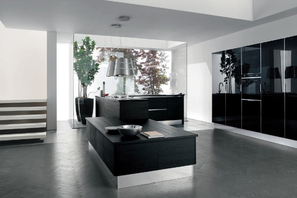 kitchens-black-lacquered-steel